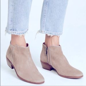 Sam Edelman Petty boots gray suede booties